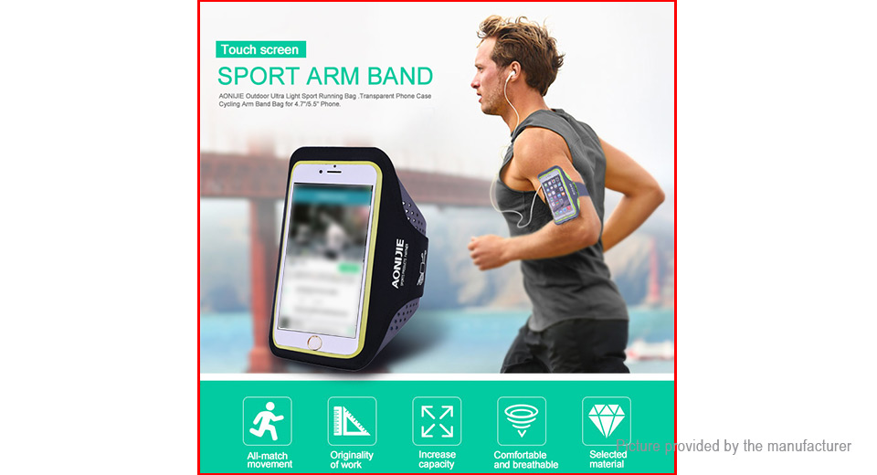 AONIJIE T880 Sports Running Armband Phone Case Bag