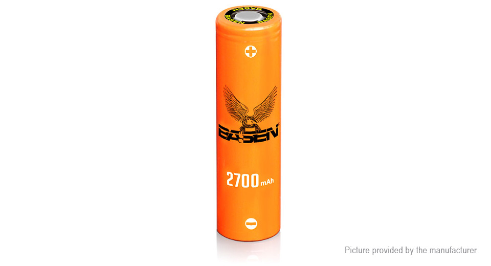 Product Image: authentic-basen-imr-18650-3-7v-2700mah