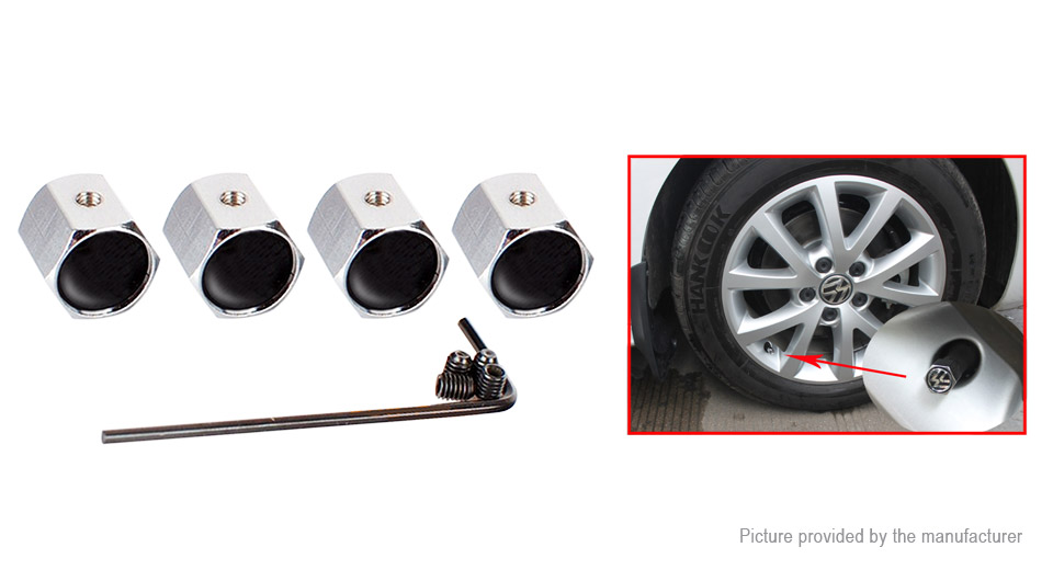 Product Image: aluminum-alloy-tire-valve-stem-cap-for-tesla