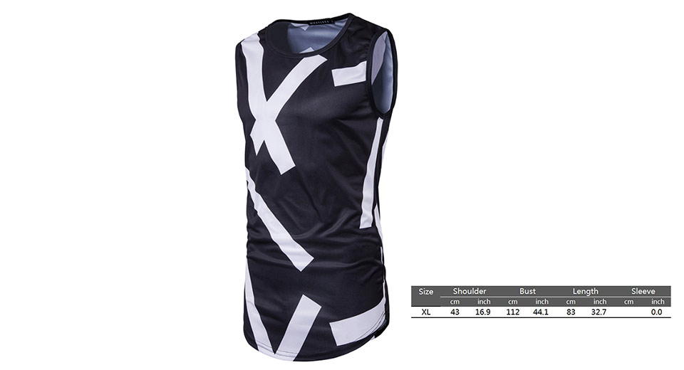 Product Image: men-s-3d-print-casual-t-shirt-vest-undershirt