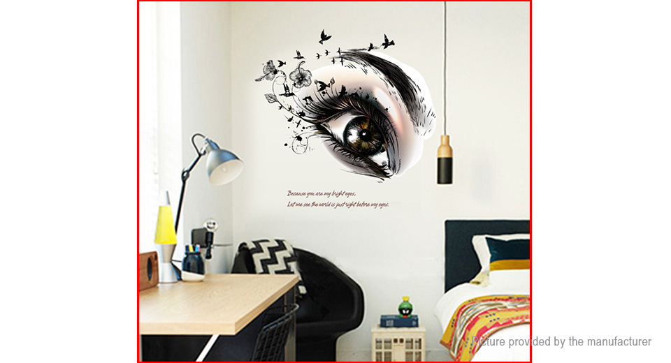 Artistic Eye Styled Wall Sticker Home Decor
