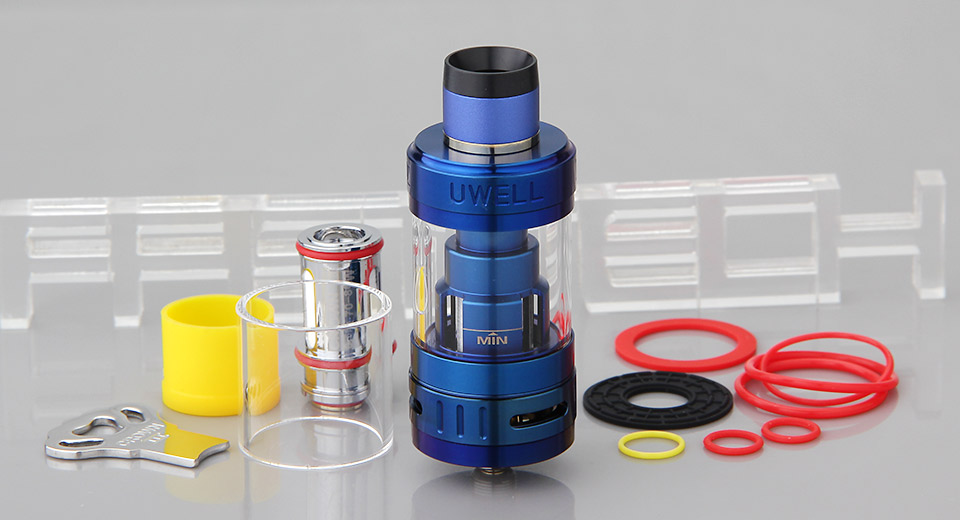 Product Image: authentic-uwell-crown-3-sub-ohm-tank-clearomizer
