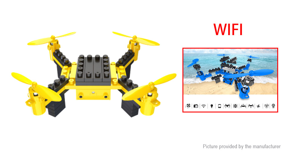Product Image: heliway-902-diy-building-block-r-c-quadcopter