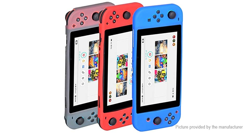 Silicone Protective Case Cover for Nintendo Switch NS Game Console