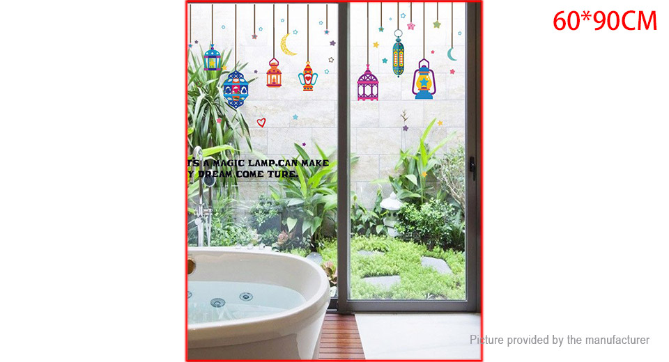 Colorful Droplight Styled Wall Sticker Home Decor