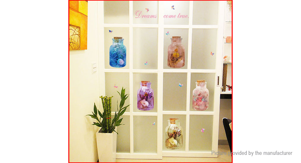 Vase Styled Wall Sticker Home Decor