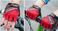 INBIKE Outdoor Cycling Bicycle Non-slip Half-finger Gloves (Pair/Size L)