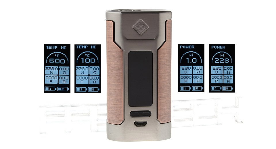 Product Image: authentic-wismec-predator-228w-tc-vw-apv-box-mod