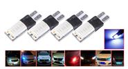 T10 5W 300LM Car Wedge License Side LED Light Bulb (4-Pack)