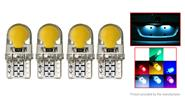 T10 2W 8*SMD LED 150LM Car Reading LED Light Bulb (4-Pack)
