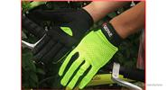 Authentic QEPAE 7519 Sports Cycling Full Finger Gloves (Size L)