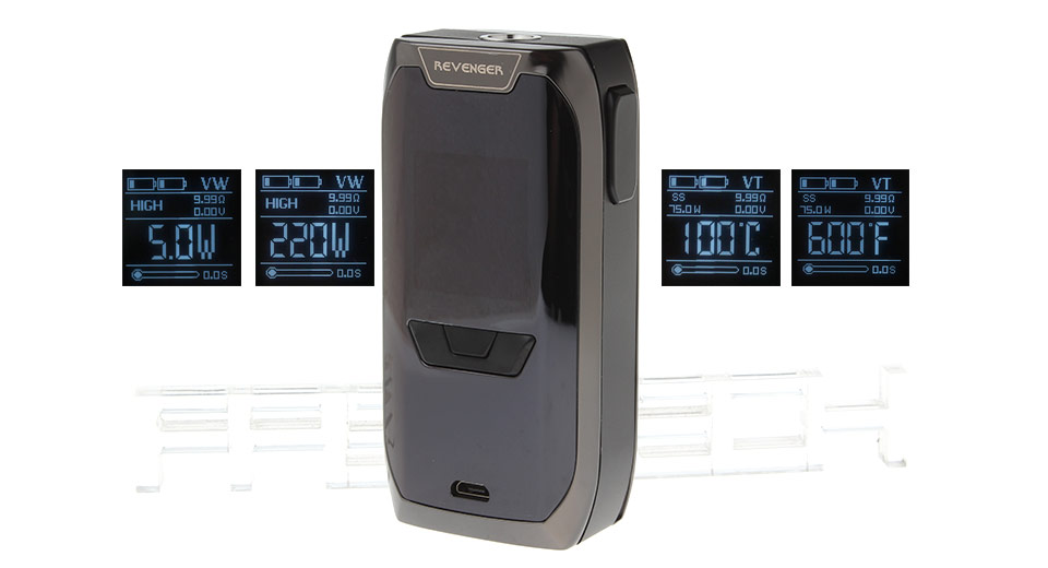 Authentic Vaporesso Revenger 220W TC VW APV Box Mod