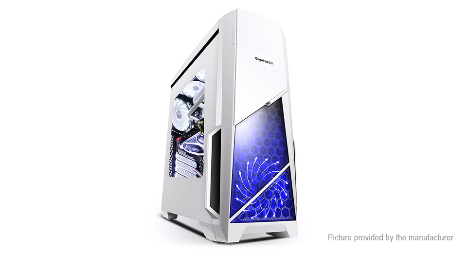 Product Image: segotep-spring-mid-tower-gaming-computer-case