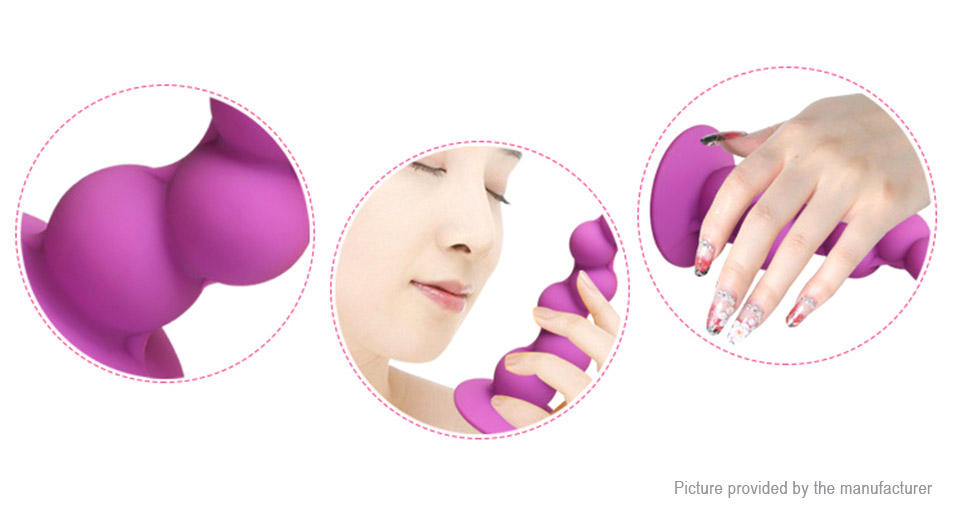 604 Female Vaginal Anal Plug Vaginal Stimulating Sex Toy - Suction Cup At Fasttech -8822