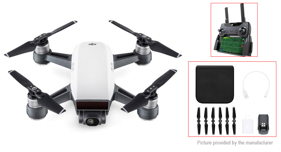 Authentic DJI SPARK R/C Quadcopter Drone Kit (1080p)