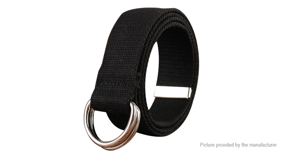 Product Image: unisex-double-loop-alloy-ring-buckle-casual