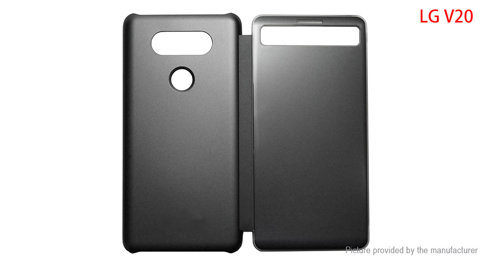 Flip-Open PU Protective Case Cover for LG V20