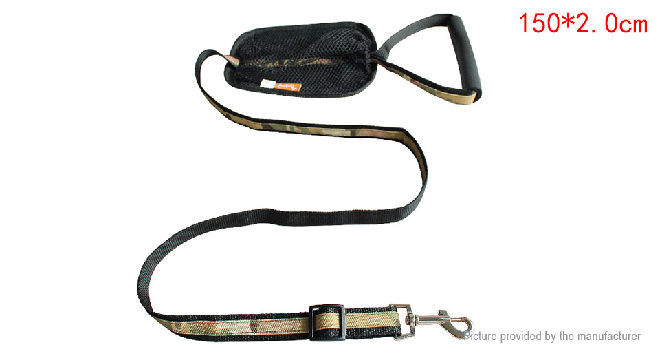 Product Image: ondoing-pet-dog-walking-lead-leash-w-pouch-bag