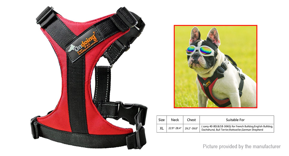 Product Image: ondoing-pet-dog-600d-oxford-fabric-harness-size-xl