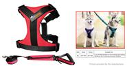 Ondoing Pet Dog Harness Walking Lead Leash Set (Size XL)