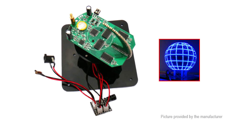 Product Image: diy-spherical-rotating-led-kit-pov-soldering
