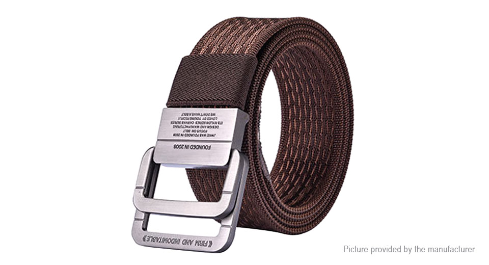 Product Image: 122cm-men-nylon-double-ring-belt-military