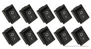 KCD1-101 ON/OFF Power Push Button Switch (10-Pack)