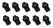 DS-228 Self-locking ON/OFF Push Button Switch (10-Pack)