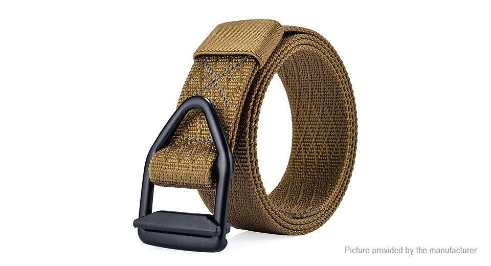 Product Image: 124cm-men-nylon-alloy-buckle-belt-military