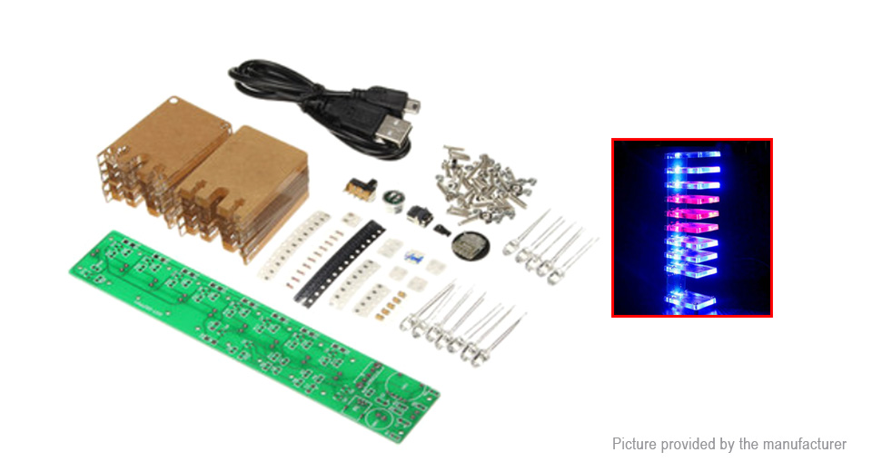 Product Image: diy-led-sound-contron-music-spectrum-board-kit