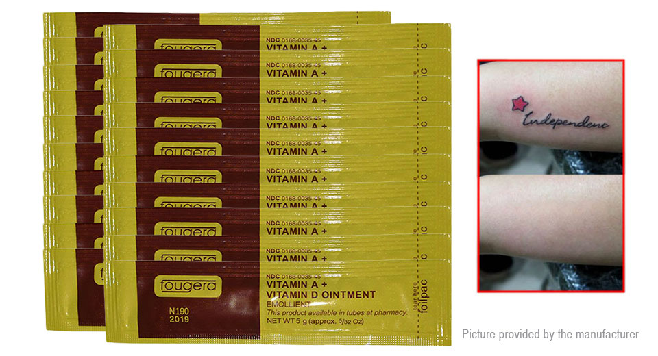 $3.00 Vitamin A + Vitamin D Tattoo Aftercare Ointment Cream (20 ...