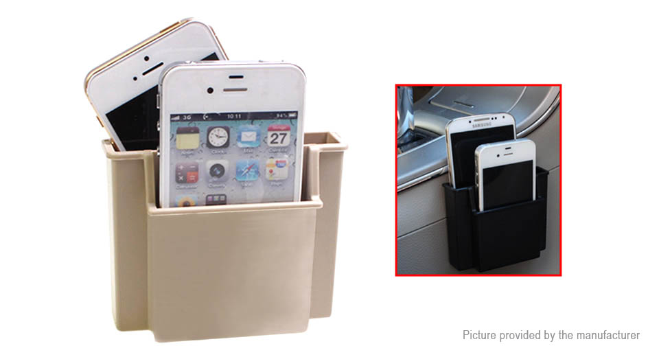 Universal Car Hanging Storage Box Cell Phone Card Holder