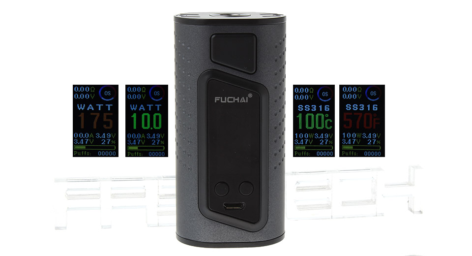 Product Image: authentic-sigelei-fuchai-duo-3-2-3-175w-255w-tc