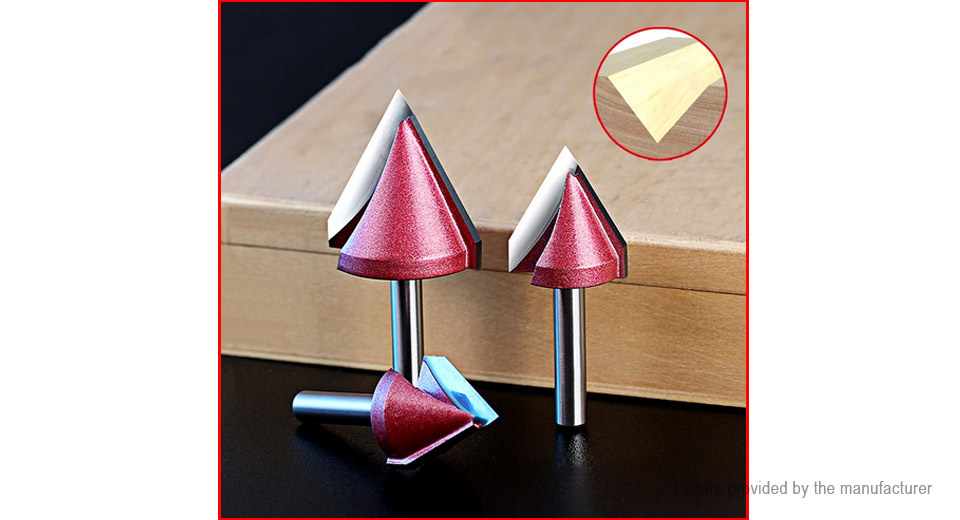 $5.34 150 Degree V-Groove 3D CNC Router Bit Woodworking ...