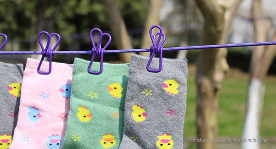 ... Portable Retractable Clothesline Clothes Hanger Drying Rack ...