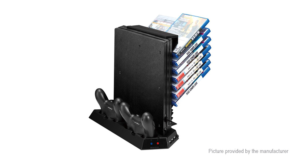 Product Image: dual-charging-dock-station-game-disk-holder