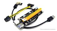 PCIe 1X to PCIe 16X Extender Riser Card Adapter for Bitcoin Miner