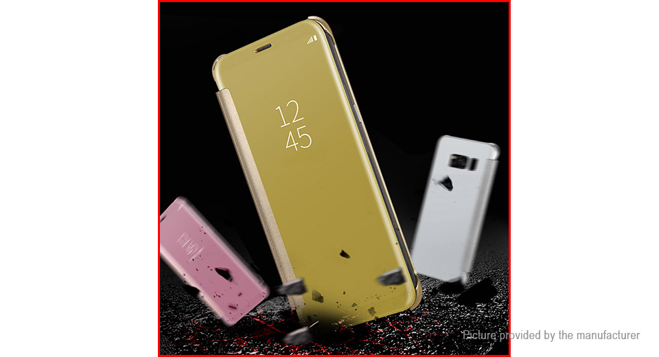 Flip-Open Protective Case Cover for Samsung Galaxy S8