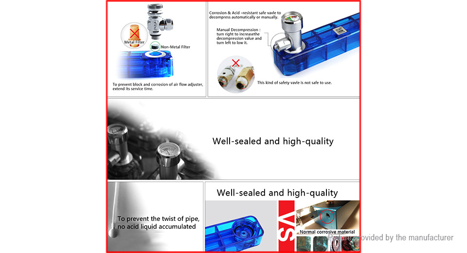 WuYouChuangYi D501 Aquarium CO2 Generator Kit DIY Fish Tank Plant System