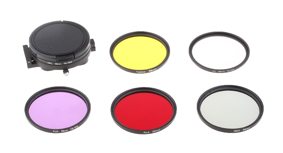 Product Image: lingle-at658-58mm-lens-filter-kit