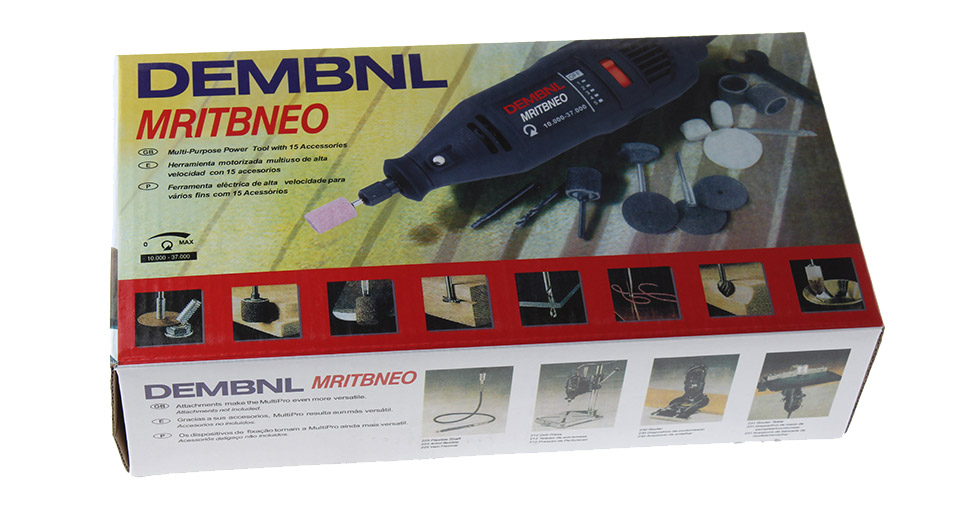 $20 76 Dremel MultiPro 220V Electric Grinder Rotary Variable Speed Power  Tool Kit - 10000-37000r/min no-load speed at FastTech - Worldwide Free