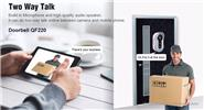 Authentic ESCAM Doorbell QF220 960p P2P Wifi IP Camera Smart Doorbell