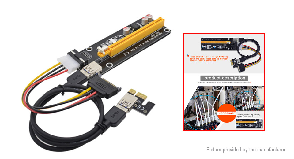Product Image: pcie-1x-to-16x-riser-card-extension-cable