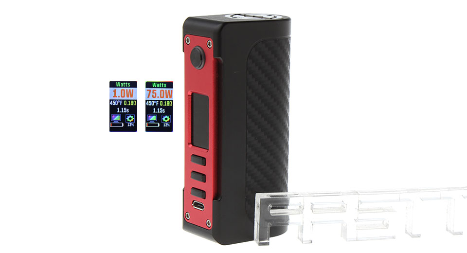 Product Image: authentic-vapecige-vtx-100w-tc-vw-apv-box-mod