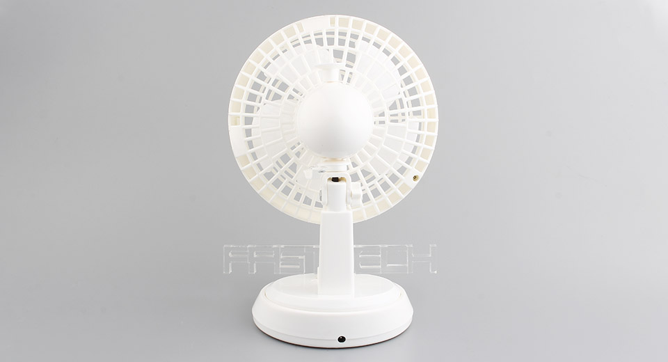 USB Rechargeable Oscillating Table Fan ...