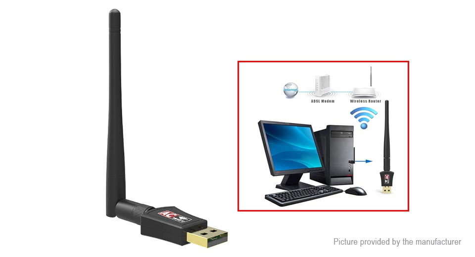 Product Image: 11ac600-dual-band-600mbps-usb-wireless-lan-adapter