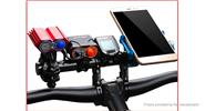 GUB G-202 Bicycle Handlebar Extender Stopwatch Flashlight Holder Rack