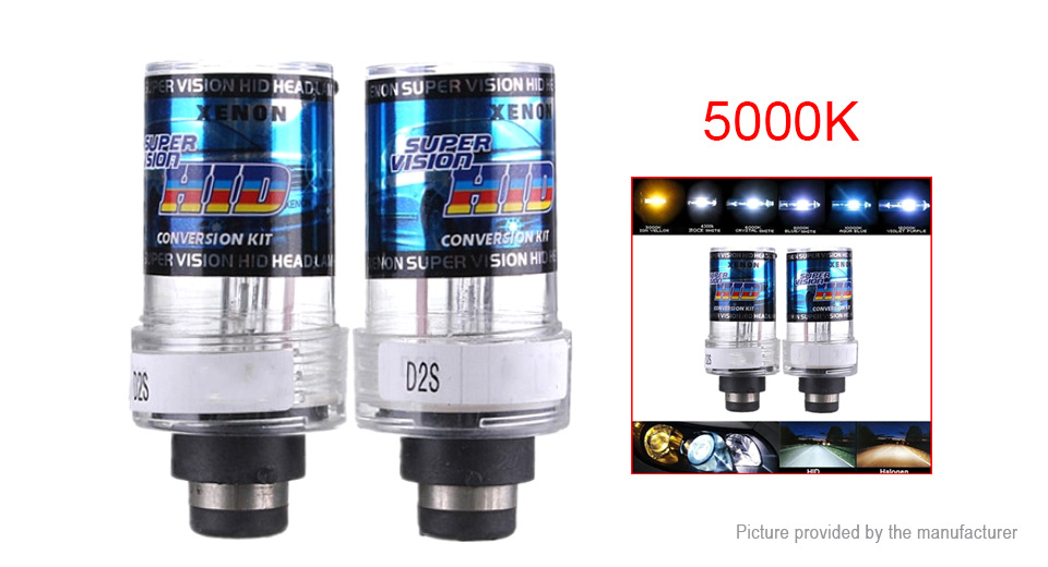 Product Image: d2s-35w-3500lm-5000k-warm-white-car-hid-xenon