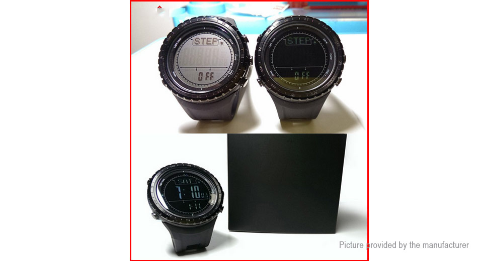 NORTH EDGE RIDGE1 Outdoor Sports Digital Wrist Watch