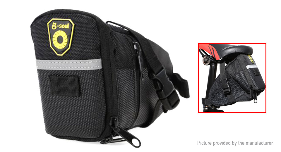 Product Image: b-soul-waterproof-bicycle-cycling-saddle-bag-tail